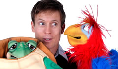Tim Holland, ventriloquist